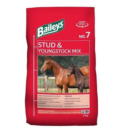 Baileys No 7 Stud & Youngstock Mix 20kg