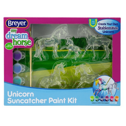 Breyer Suncatcher Unicorn Paint Your Own