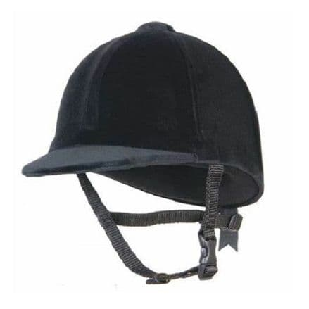Champion Junior Riding Hat  - Black (NOT TO CURRENT STANDARD)