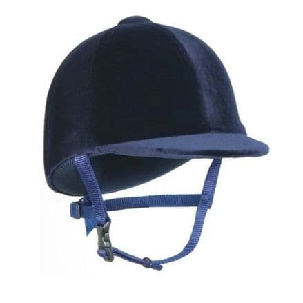 Champion Junior Riding Hat  - Navy (NOT TO CURRENT STANDARD)