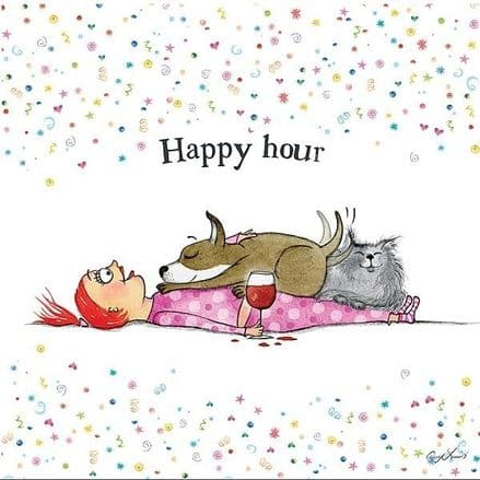 Dog Lovers Selection Cards Happy Hour