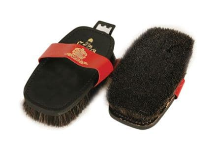 Equerry Body Brush XLH Leather Back