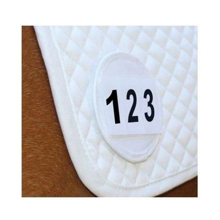 Equetech Saddlecloth Numbers x 2