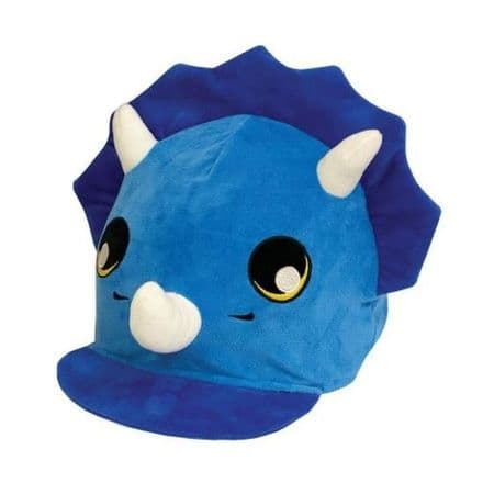 Equetech Tyrone Triceratops Hat Silk