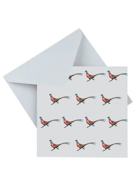 Grays Blank Greeting Card 'Pheasants'
