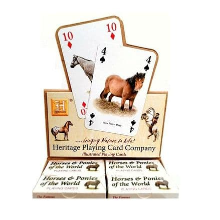 Grays Horse Playing Cards