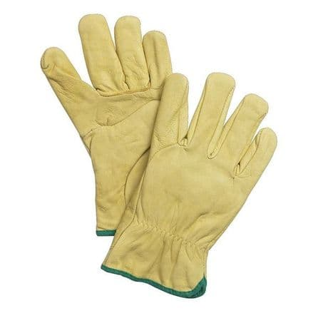 Hoggs of Fife Leather Roping Work Gloves