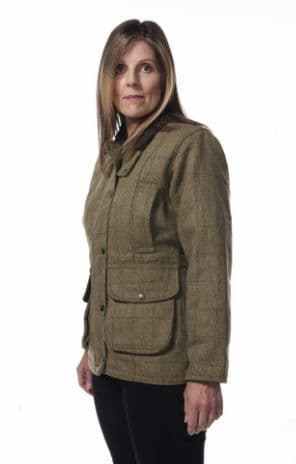 Hunter Outdoors Ladies Tweed Shooting Jacket
