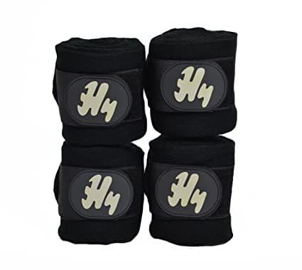 Hy Stable Bandages x 4 - Black