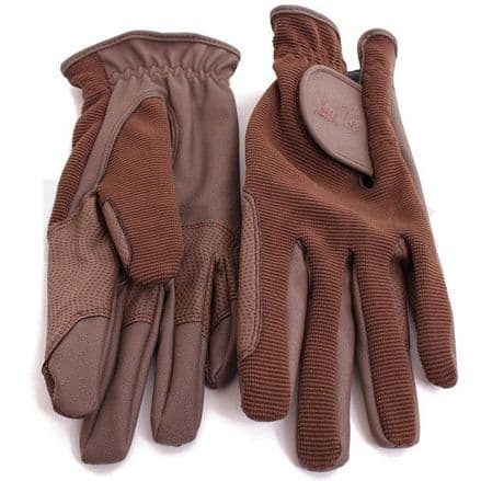 Mark Todd Adult Super Riding Gloves - Brown