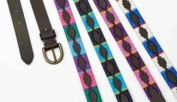 Shires Drover Skinny Polo Belt