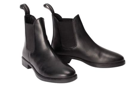 Shires Wessex Junior Jodhpur Boots Black