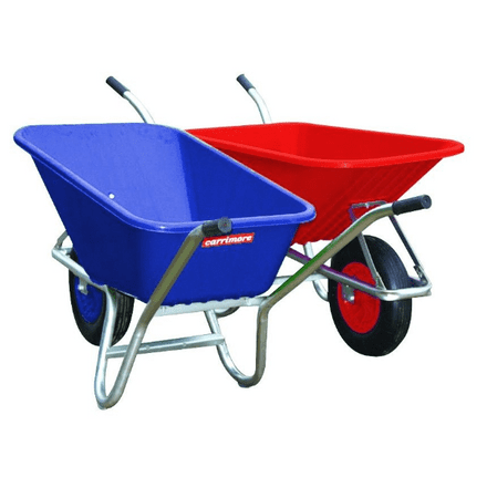 Stable Barrow 120 Litre Capacity Wheelbarrow - Puncture Proof Wheel