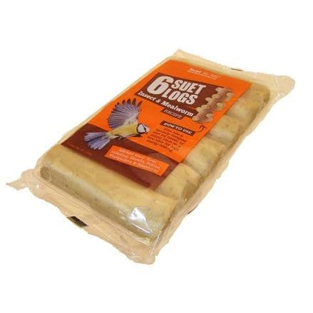 Suet to Go Logs Insect & Mealworm Pack of Six