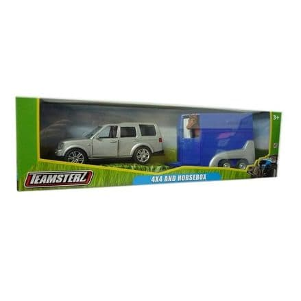 Teamsterz 4 x 4 and Horsebox Children's Toy