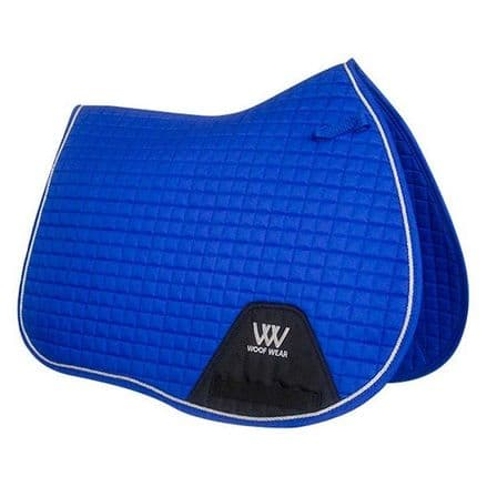 Woof Wear General Purpose Saddle Cloth - Electric Blue