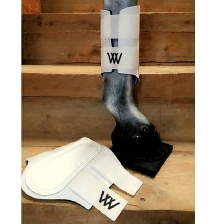 Woof Wear Original Two Strap Club Boots - White