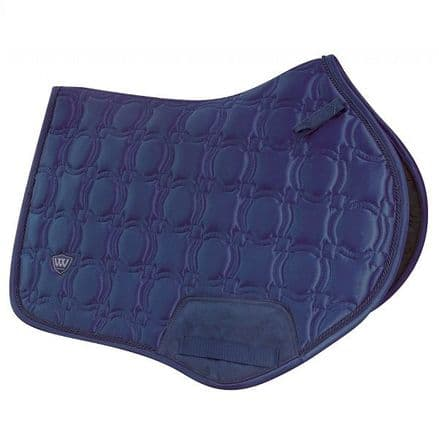 Woof Wear Vision Close Contact Saddle Pad - Navy