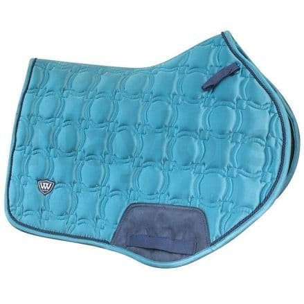 Woof Wear Vision Close Contact Saddle Pad - Ocean