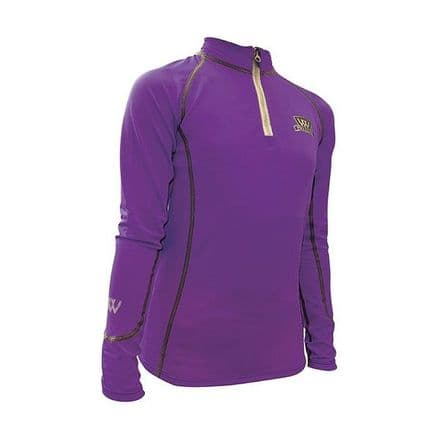 Woof Wear Young Rider Performance Riding Shirt - Ultra Violet
