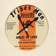 ANGEL OF LOVE / FASHION ROCK. Artist: The Survivors. Label: Tribes Man.