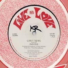 CAN`T TIE ME / COME INA THIS. Artist: Parker P  Horace Andy. Label: Live and Love.