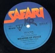 HIT AND RUN / GOVERNMENT ISSUE. Artist: Weapon of Peace. Label: Safari