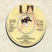 MAGIC / INSTRUMENTAL. Artist: Delroy Washington Band. Label: United Artists