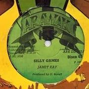 SILLY GAMES / DANGEROUS. Artist: Janet Kay. Label: Arawak.