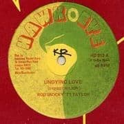 UNDYING LOVE / READY TO LEARN. Artist: Rod Taylor  The Emotionals. Label: Hawk Eye
