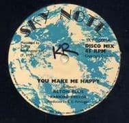 YOU MAKE ME SO HAPPY / BABY I LOVE YOU. Artist: Alton Ellis  Ranking Trevor. Label: Sky Note.