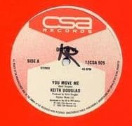 YOU MOVE ME / ANGEL. Artist: Keith Douglas. Label: CSA