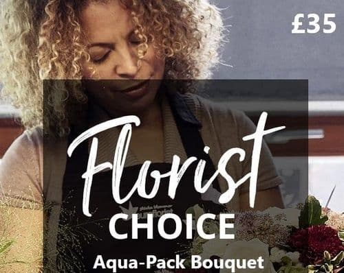 Florist Choice Aqua Pack £35