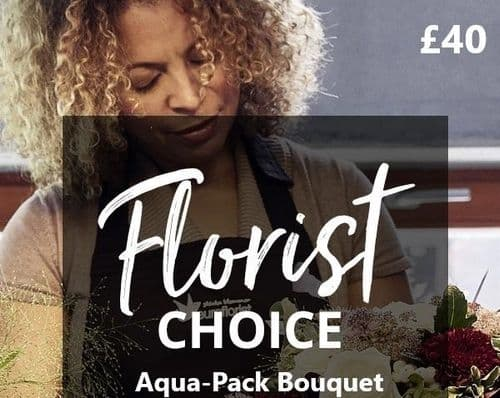 Florist Choice Aqua Pack £40