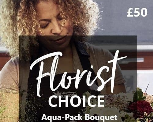 Florist Choice Aqua Pack £50