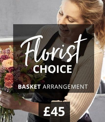 Florist Choice Basket Arrangement £45.00