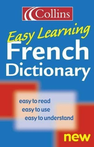 Collins Easy Learning French Dictionary - 0004724038