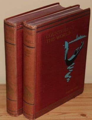 Countries of the World Volumes I and II by Sir John Hammerton