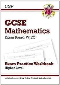 GCSE Maths WJEC Exam Practice Workbook with answers and online edition - Higher