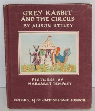 Grey Rabbit and the Circus by Alison Uttley