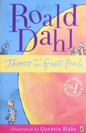 James and the Giant Peach by Roald Dahl - 9780141322636