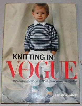 Knitting In Vogue Number 3 by Christine Probert