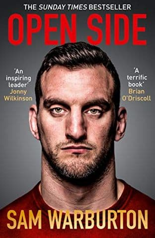 Open Side by Sam Warburton - Signed -9780008336592