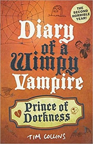 Prince of Dorkness: Diary of a Wimpy Vampire by Tim Collins - 9781843175247
