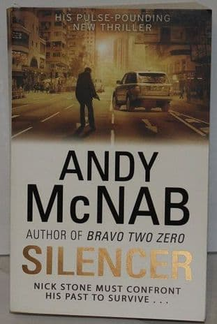 Silencer by Andy McNab-9780552161428