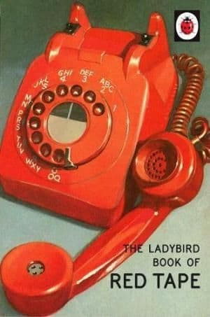 The Ladybird Book of Red Tape - 9780718184391