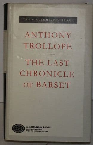 The Last Chronicle of Barset by Anthony Trollope - 1857152085