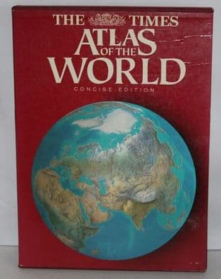 The Times Atlas of the World Concise Edition - 0723004935