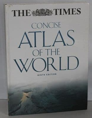 The Times Concise Atlas of the World 9th Edition - 0007714335