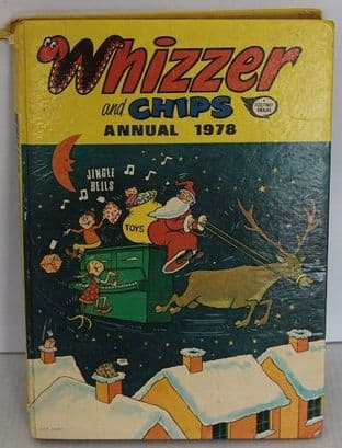 Whizzer and Chips Annual 1978 by Mike Lacey - 0850373662